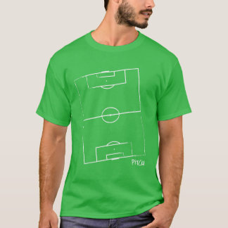 Soccer Pitch Men's T-Shirt (Green)