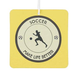 Soccer Player Car Air Freshener