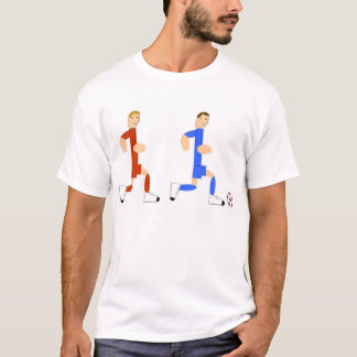 Soccer Player chasing the guy with the ball T-Shirt