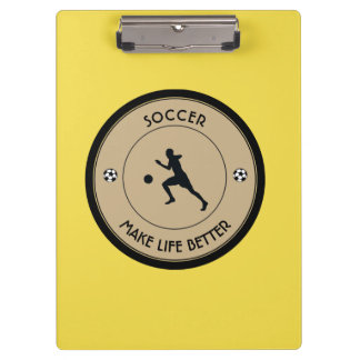 Soccer Player Clipboard