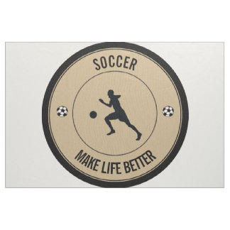 Soccer Player Fabric