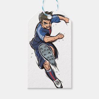 Soccer Player Gift Tags