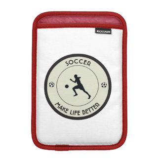 Soccer Player iPad Mini Sleeve