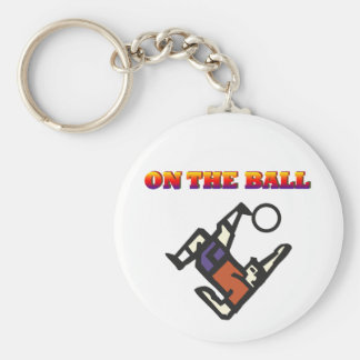 Soccer player keychain