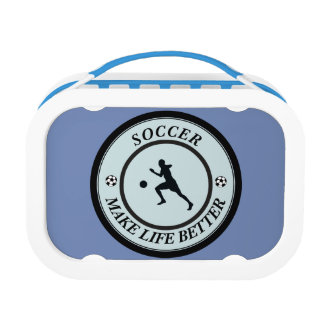 Soccer Player Lunch Box