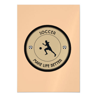 Soccer Player Magnetic Card