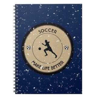 Soccer Player Notebook