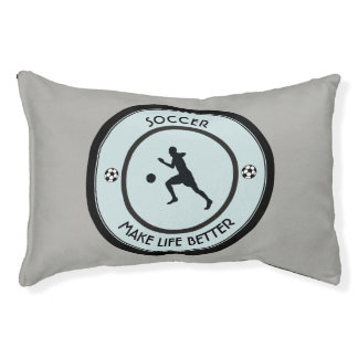 Soccer Player Pet Bed