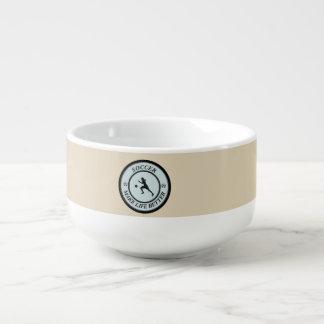 Soccer Player Soup Mug