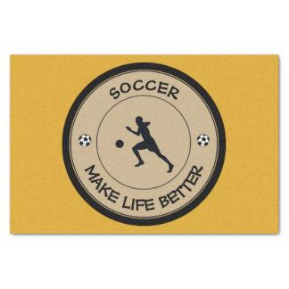 Soccer Player Tissue Paper