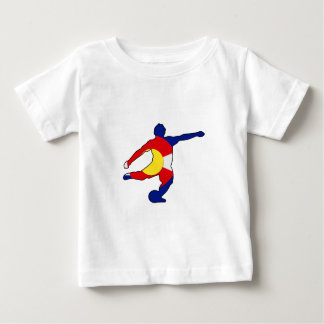 Soccer Player with Colorado Pride! Baby T-Shirt