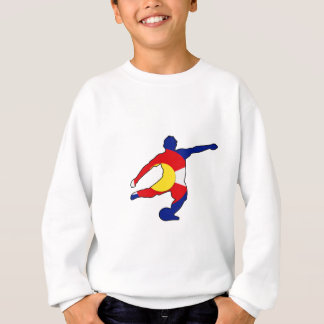 Soccer Player with Colorado Pride! Sweatshirt
