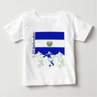Soccer Players - El Salvador Baby T-Shirt