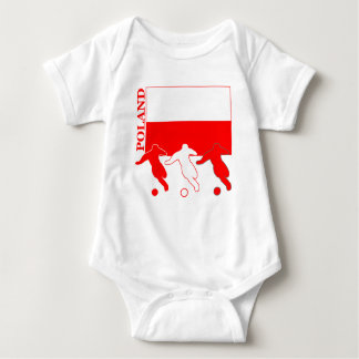 Soccer Poland Baby Bodysuit