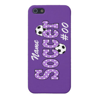 Soccer Polka Dots iPhone 5/5S Cases