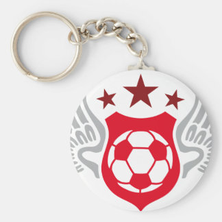 soccer porte-clé
