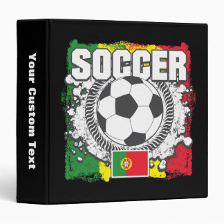 Soccer Portugal Binders