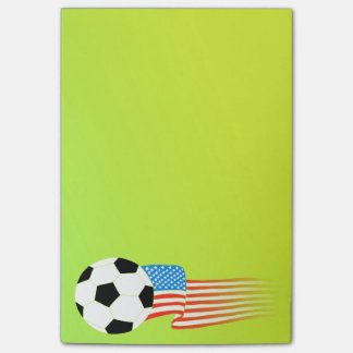 Soccer Post-it® Notes