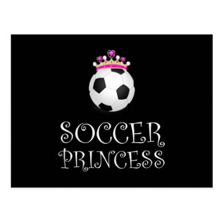 Soccer Princess Postcard