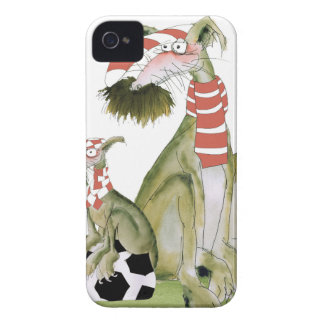 soccer reds, like father like son iPhone 4 cover