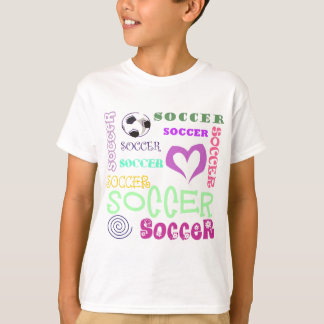 Soccer Repeating T-Shirt