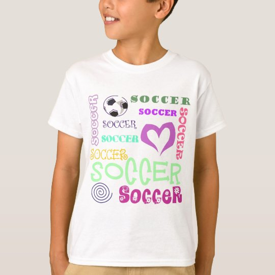 Soccer Repeating T-Shirt