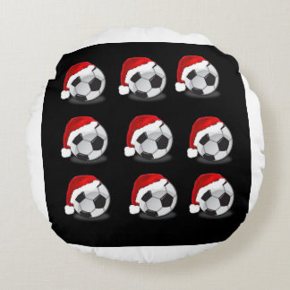 SOCCER ROUND PILLOW