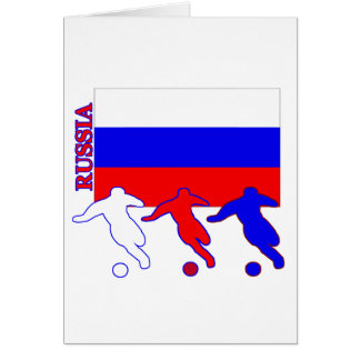 Soccer Russia Greeting Card