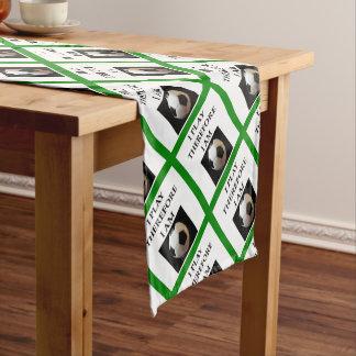 SOCCER SHORT TABLE RUNNER