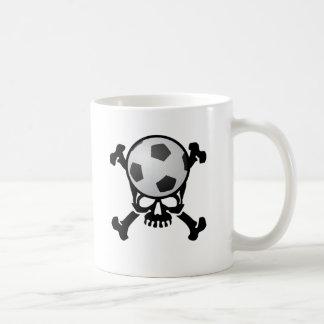 Soccer Skull Coffee Mug