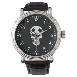 Soccer Skull Watch