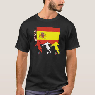 Soccer Spain Dark T-shirt