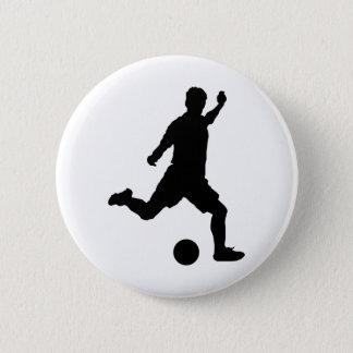 Soccer Sport 2 Inch Round Button