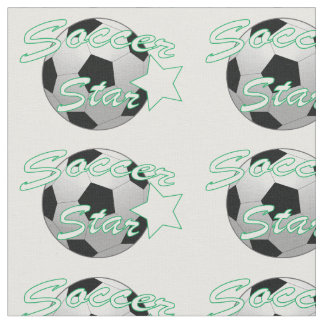 Soccer Star Fabric
