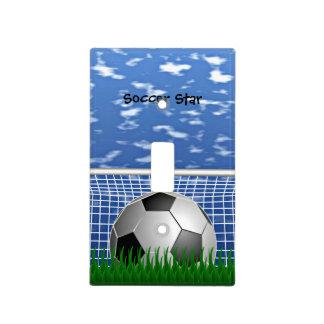 Soccer Star Light Switch Cover