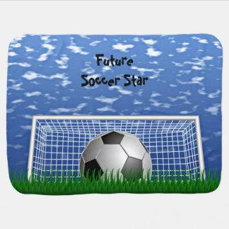 Soccer Star Swaddle Blankets
