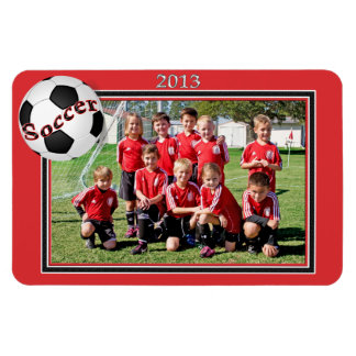Soccer Team Connor Magnet