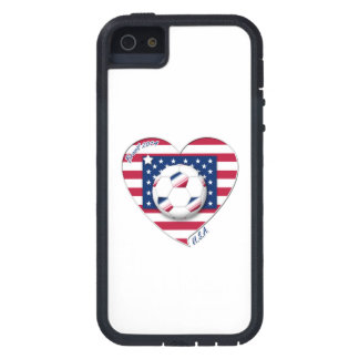 """Soccer Team """"U.S.A."""" Soccer of the United States Case For The iPhone 5"""