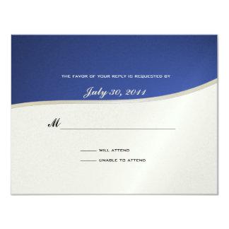 "Soccer Theme Response Card 4.25"" X 5.5"" Invitation Card"