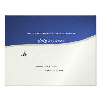 Soccer Theme Response Card Custom Invite