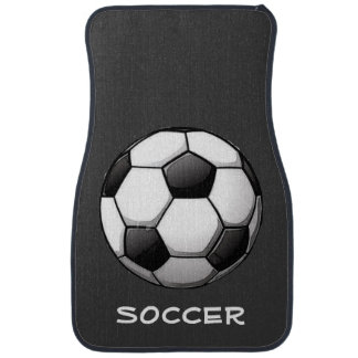 Soccer-Themed Car Mats Car Mat