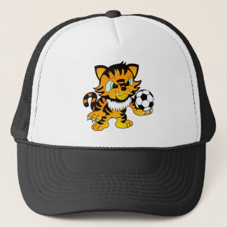 Soccer Tiger Trucker Hat