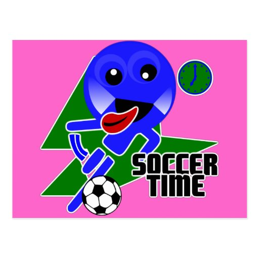 Soccer Time Postcards