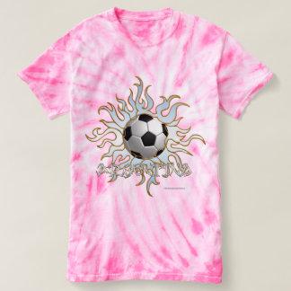Soccer Tribal Sun Ladies Tie-Dye T-Shirt