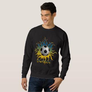 Soccer Tribal Sun  Men's Sweatshirt