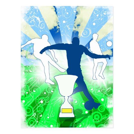 Soccer Trophy Postcard