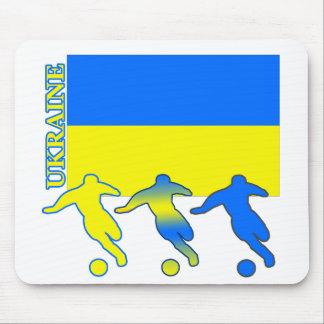 Soccer Ukraine Mouse Pad
