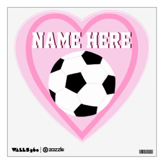 Soccer Wall Decals: Love Soccer Wall Sticker