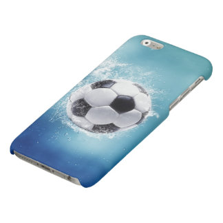Soccer Water Splash Matte iPhone 6 Case