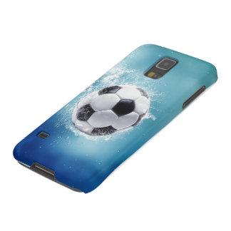 Soccer Water Splash Samsung Galaxy S5 Case